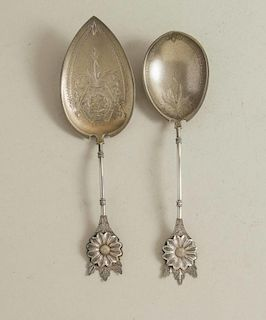 Two Sterling Silver Serving Pieces