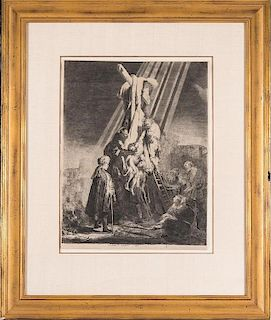 Rembrandt, The Descent from the Cross