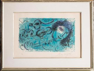Chagall, The Flute Player