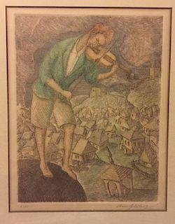 Chaim Goldberg, The Fiddler