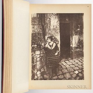 Atget, Eugène (1857-1927) Atget Photographe de Paris. New York: Weyhe, [Printed in France, 1930]. Quarto, preface by Pierre