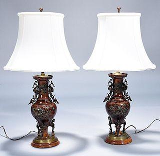 Chinese Bronze Vases