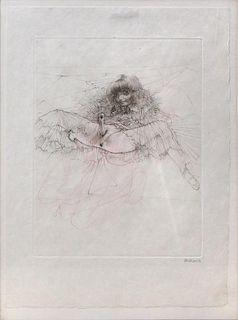 "Bellmer, Hans,  German (1902-1975),""PETIT TRAITE DE LA MORALE"", the set of ten engravings printed in two colors,"