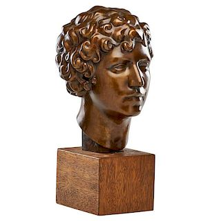 ISAMU NOGUCHI Portrait sculpture