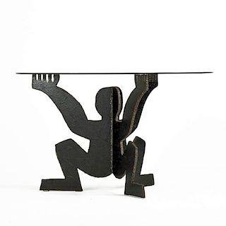 "MAURIZIO CATTELAN ""Cerberino"" table"