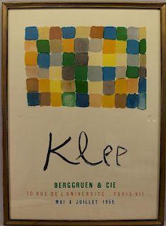 Paul Klee Framed Exhibition Poster