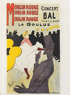 TOULOUSE-LAUTREC, Henri de (1864-1901). Two illustrated works about the art of Toulouse-Lautrec.