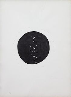 Lucio Fontana, (Argentine/Italian, 1899-1968), Concetto Spaziale, 1968