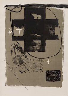 Antoni Tapies, (Spanish, 1923-2012), Art 6 '75, 1975
