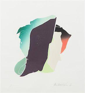 * John Chamberlain, (American, 1927-2011), Broke Purple, 1983