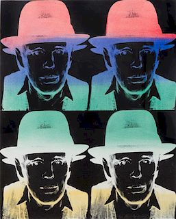 * Andy Warhol, (American, 1928-1987), Joseph Beuys, (State II), 1980/83