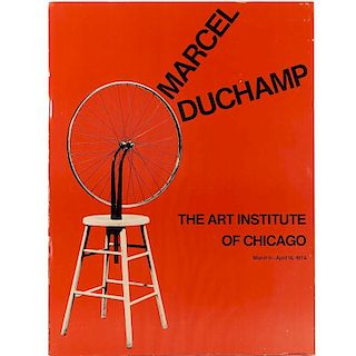 Marcel Duchamp, exhibition poster