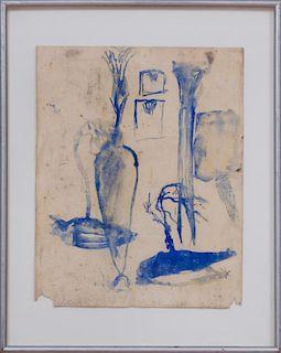 JULIAN SCHNABEL (b. 1951): UNTITLED