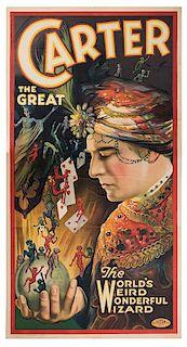 Carter the Great. The World's Weird Wonderful Wizard.