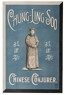 Chung Ling Soo. Chinese Conjurer.
