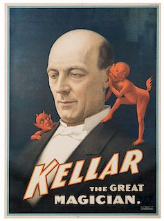 Kellar the Great Magician.