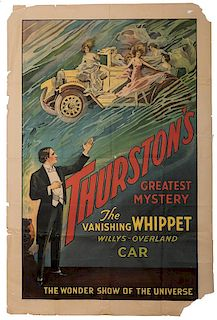 Thurston's Greatest Mystery. The Vanishing Whippet.