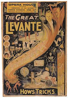 The Great Levante. Hows Tricks.