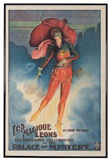 Les Magique Leons. The Whirlwind Illusionists.