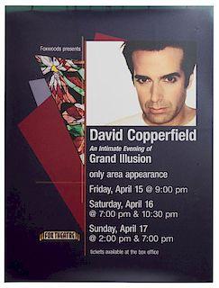Foxwoods Presents David Copperfield. Fox Theater.