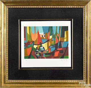 Marcel Mouly signed lithograph