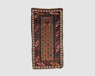 Talish Prayer Rug, Caucasus, late 19th century