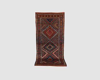 Kurd Corridor Carpet, Persia, early 20th century