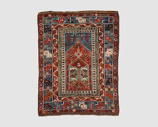 Turkish Prayer Rug, mid 19th century