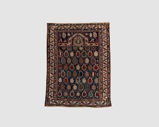 Shirvan Marasali Prayer Rug, Caucasus, late 19th century