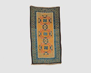 Chinese Small Rug, 19th century