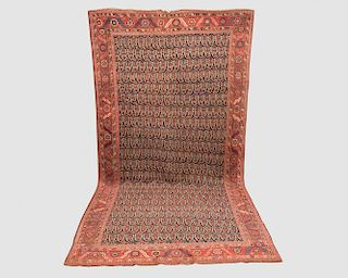 Karabagh Corridor Carpet, Caucasus, late 19th century (altered in length); together with a Fragment from the Carpet