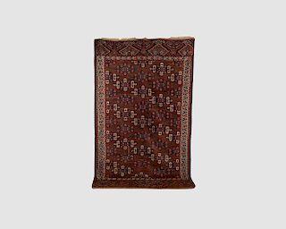 Yomud Kepsie-Gul Main Carpet, Turkestan, second half 19th centuy