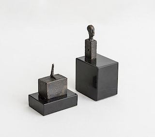 AFTER ALBERTO GIACOMETTI (1901-1966): FOOT; AND HEAD