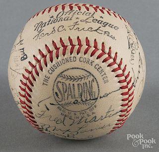 1949 St. Louis Cardinals team signed baseball