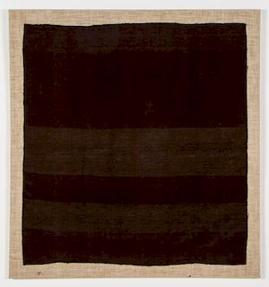 Old Finely Woven Peruvian Apron c. 1920.