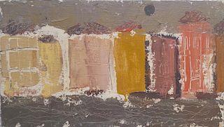 "William G. Congdon (1912-1998) Modernist Painting ""Venezia"""