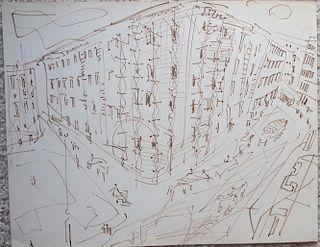 "William G. Congdon (1912-1998) ""Napoli"""