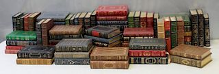 A Group of 73 Franklin Library Leather Bound Books
