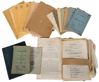 Archive of Documents Pertaining to the Matthew J. Connelly Prosecution.