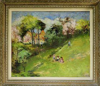 Laszlo Csupor Impressionist Landscape Painting
