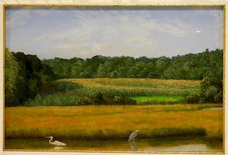 Stephanie Parker RI Landscape Pastel Painting