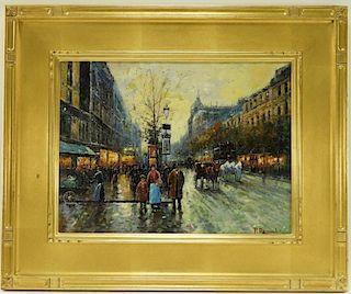 Pierre Renard Impressionist Parisian Painting