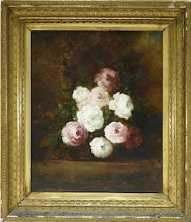 French Impressionist Floral Still Life Painting