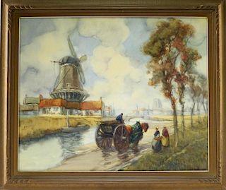 Francis Vreeland Impressionist Landscape Painting
