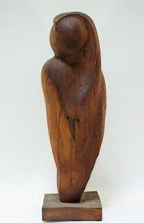 Aft Constantin Brancusi Modernist Carved Wood Muse