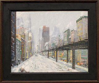 LEON DOLICE (American, 1892-1960)