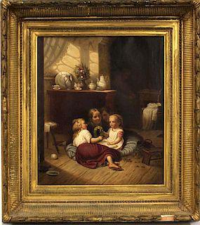 DAVID GILMOURE BLYTHE (American, 1815-1865)