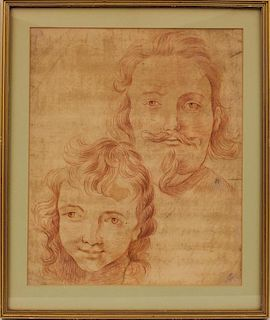DUTCH OLD MASTER DRAWING, 17th c.