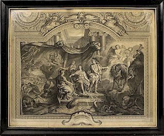 17TH C. FRENCH ENGRAVING