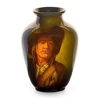 ROOKWOOD Portrait vase